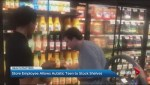 Store employee allows teen with autism to stock store shelves