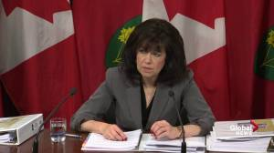 Ontario Auditor General slams Metrolinx for changing decisions (02:18)
