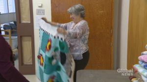 Regina seniors with a passion for quilting sew for a good cause