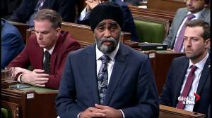 Harjit Sajjan avoids answering questions to step down