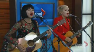 "The Command Sisters perform their new single ""Low Profile"""