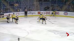 Saskatoon Blades snap 4-game skid with thrilling 3rd-period comeback