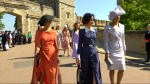 Royal Wedding: Meghan Markle's 'Suits' co-stars arrive at Windsor Castle