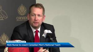 Nick Nurse to coach National Men's basketball team