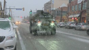 B.C. Dragoons tour Kelowna streets in armored vehicle
