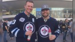 Childhood hockey friends reconnect in Las Vegas to cheer for the Winnipeg Jets