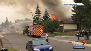 Northeast Calgary house destroyed in fire