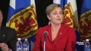 Kellie Leitch calls O'Leary a 'non-conservative' at leadership debate