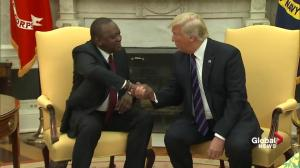 President Trump and President Kenyatta to discuss trade and security