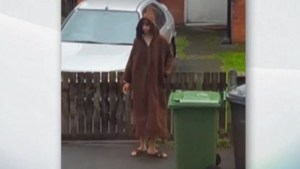 New video alleges to show Manchester bombing suspect outside his home
