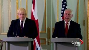 U.S. takes 'full responsibility' for Manchester intelligence leaks: Tillerson
