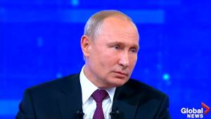 Russia's Putin says U.S. attack on Iran would be a 'catastrophe'