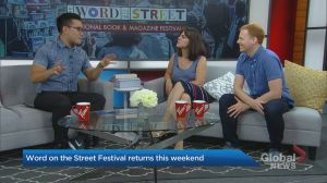 The Word on the Street Festival returns this weekend