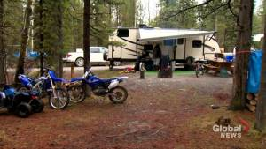 Alberta campgrounds full despite rainy long weekend