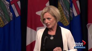 Notley pulling Alberta out of federal climate plan