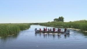 Canoeing at Oak Hammock Marsh