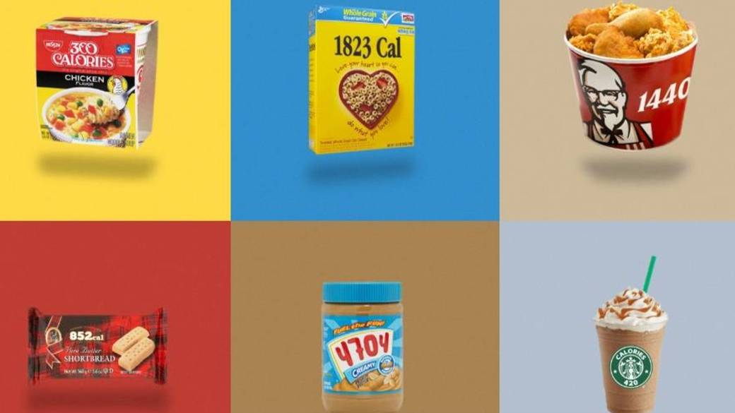 Instagram Account Swaps Iconic Junk Food Logos With Calorie
