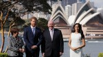 Prince Harry and Duchess of Sussex Meghan Markle are welcomed in Sydney