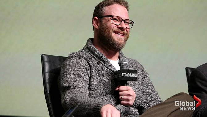 seth rogen cancels siriusxm interviews in protest of. Black Bedroom Furniture Sets. Home Design Ideas