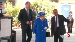 Queen Elizabeth, Prince William meet victims, emergency workers affected by London fire