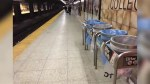 One man in custody after brazen Toronto subway stabbing