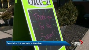Hamilton residents show support for vandalized Locke Street businesses