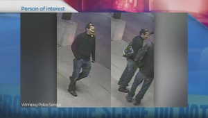 Police release photos of person of interest in connection with two homicides