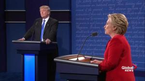Presidential debate: Trump denies support of invading Iraq