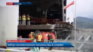 Sailings cancelled between Horseshoe Bay and Langdale