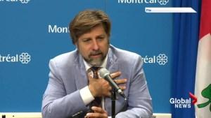 Montreal borough mayor under fire for social media post