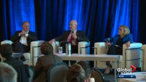 2 battle-tested finance ministers speak in Edmonton