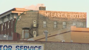 Ghost signs have been up around the Exchange District for more than a century. Even now each one still has a story it's trying to sell