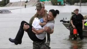 Acts of kindness during Hurricane Harvey go viral