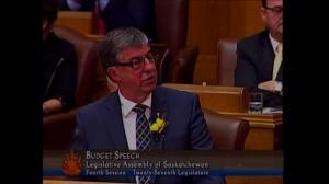 Saskatchewan presents budget for upcoming year