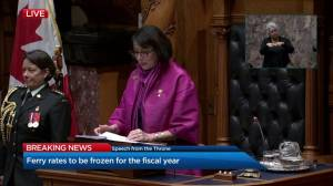 B.C. throne speech 2019: poverty reduction and student costs