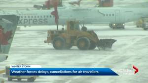 Winter storm causes thousands of flight cancellations at Pearson