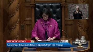B.C. throne speech 2019: Money laundering