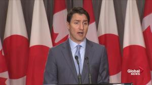 Trudeau says Canada and Japan remain allies despite dispute with China