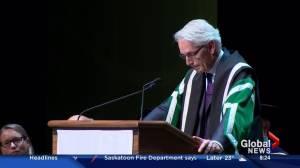 Peter Stoicheff marks first year as University of Saskatchewan president
