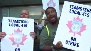 Pearson Airport baggage handlers on strike, delays expected