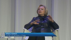 Hillary Clinton in Vancouver