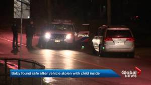 Stolen vehicle with baby inside located: Toronto police