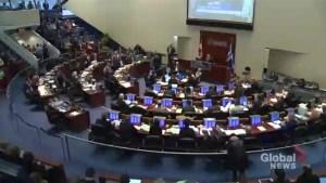 Toronto city council debates 2017 budget, approves 2% tax increase