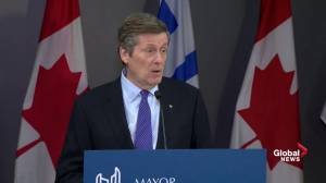 John Tory: Legal advice said now wasn't the time to pursue injunction against Uber