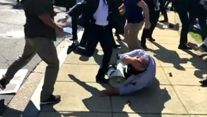 9 injured, 2 arrested in violent altercation at Turkish embassy in DC