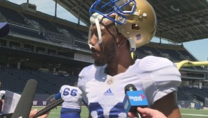 RAW: Blue Bombers Rueben Randle Interview – May 22