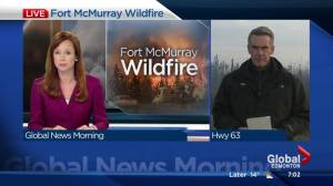 Fort McMurray wildfire: Latest live from Highway 63