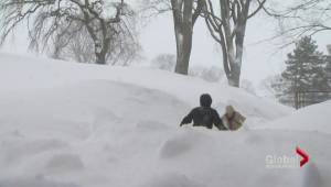 Global's Brett Ruskin helps mother in labour during snow storm
