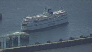 Ferry sailings cancelled out of Tsawwassen due to wind storm