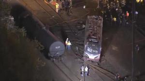 Amtrak train line running again following deadly derailment